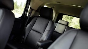 Nine-passenger seating of the new Chevy Tahoe